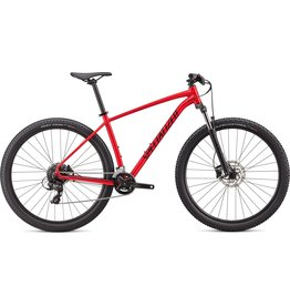 Specialized Rockhopper - Fluro Red / Tarmac Black