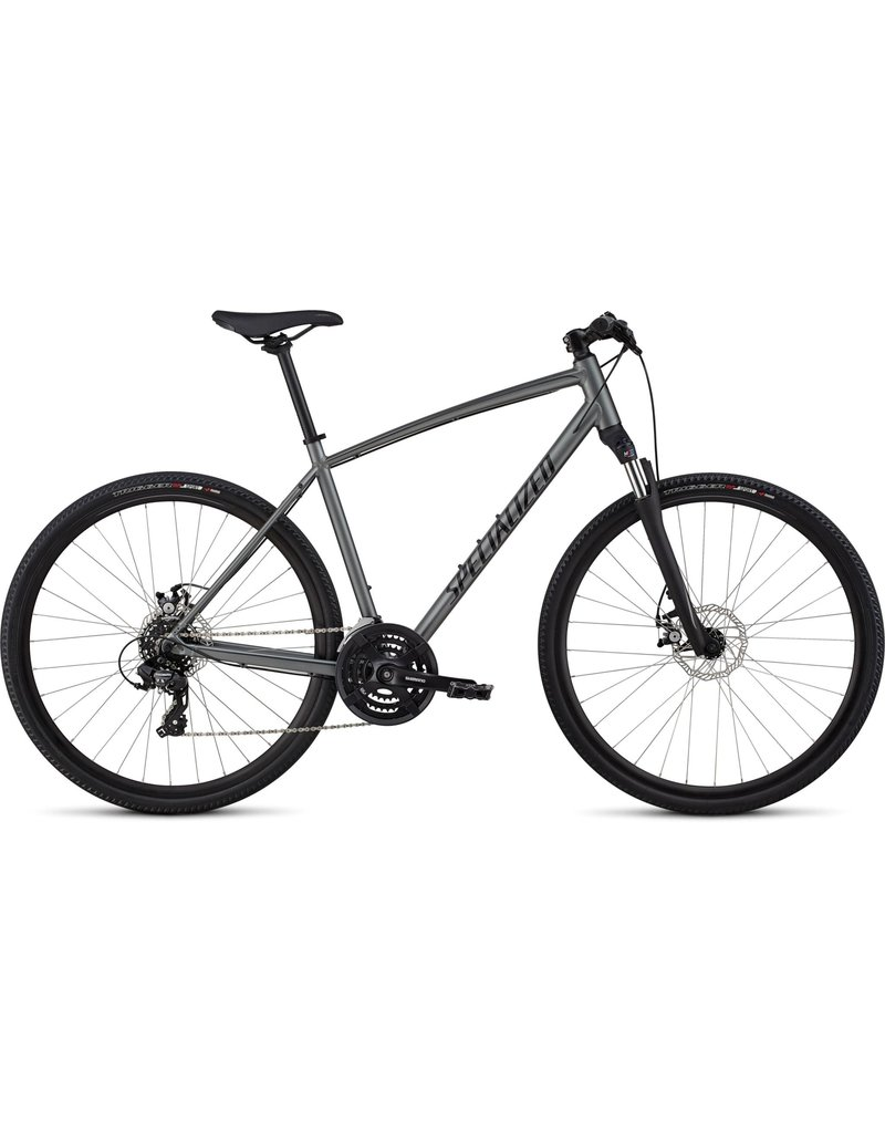 Specialized CrossTrail Mechanical Disc - Satin Charcoal / Black / Black Reflective