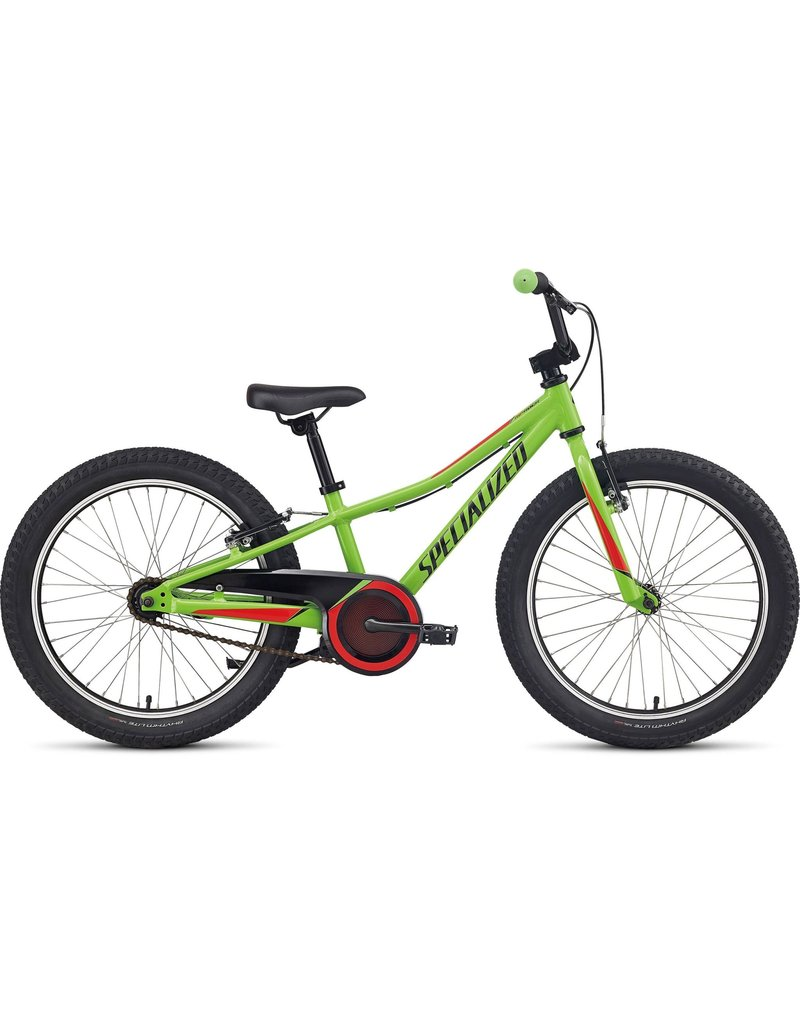 """Specialized Riprock Coaster 20"""" - Monster Green / Nordic Red / Black Reflective"""
