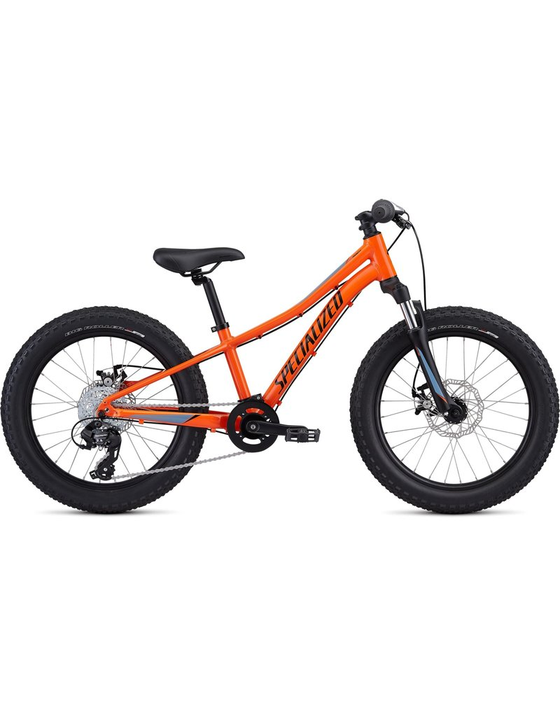 """Specialized Riprock 20"""" - Moto Orange / Charcoal / Storm Grey / Cool Grey Fade"""