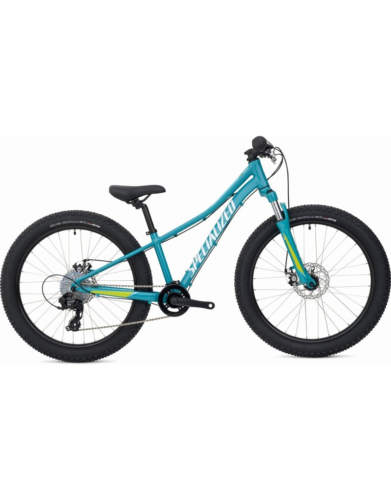 """Specialized Riprock 24"""" - Turquoise / Light Turquoise / Hyper Green"""