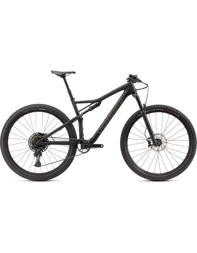 Specialized Epic Comp Carbon EVO - Satin Carbon / Oak Green