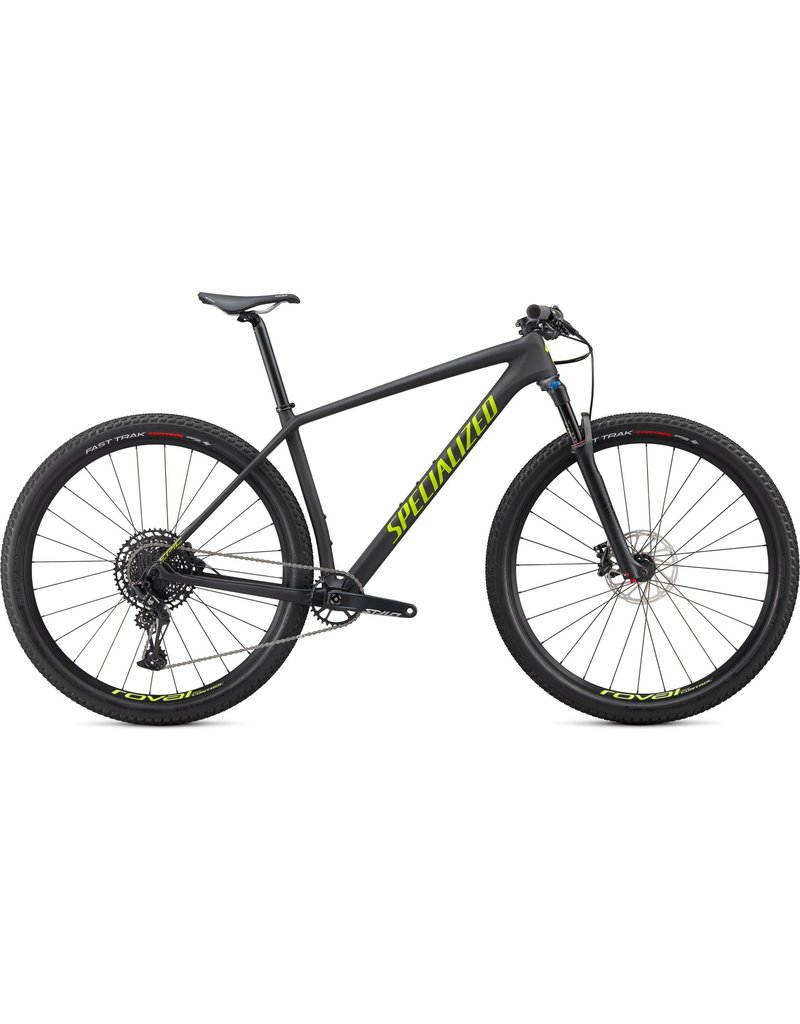 Specialized Epic Hardtail Comp - Satin Carbon / Hyper Green