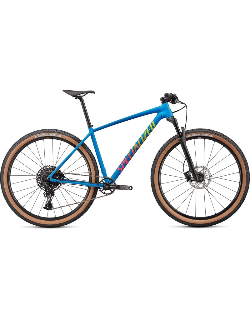 Specialized Chisel Comp - Satin Pro Blue / Vivid Pink / Team Yellow