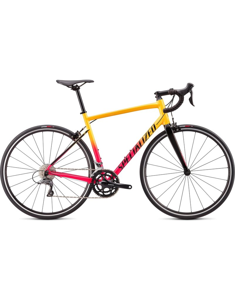 Specialized Allez - Gloss Golden Yellow / Vivid Pink Fade / Tarmac Black