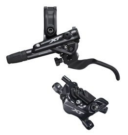 Shimano M8100 XT Rear Disc Brake, With Resin Pads, Left Lever BL-M8100