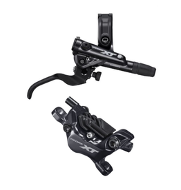 Shimano M8100 XT Front Disc Brake, With Resin Pads, Right Lever BL-M8100