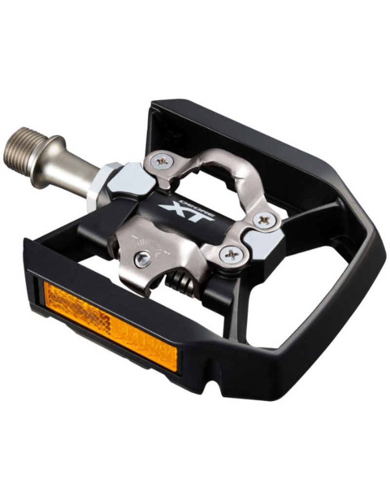 Shimano Deore XT Trekking SPD Pedal, With Reflector