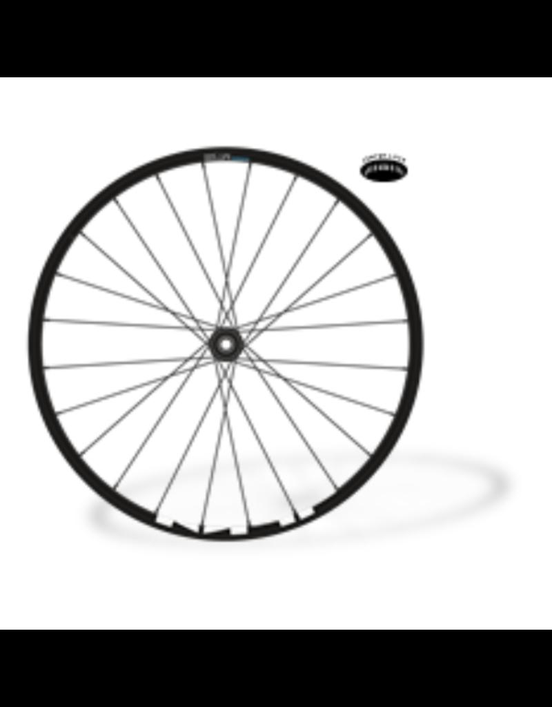 "Shimano Front Wheel - Black, 29"", 15 x 100mm, Center-lock"
