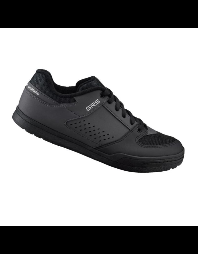 Shimano Flat Sole Shoe, Black/Grey, Size 43