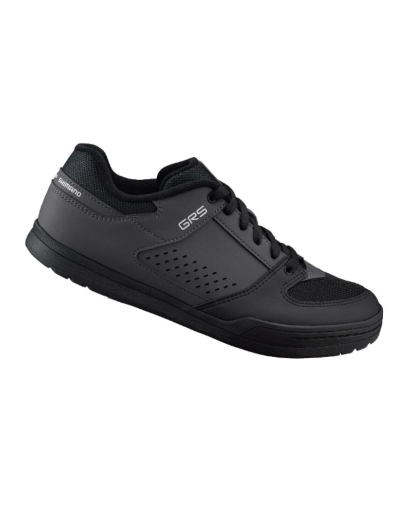 Shimano Flat Sole Shoe, Black/Grey, Size 45