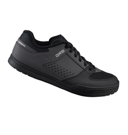 Shimano Flat Sole Shoe, Black/Grey, Size 46