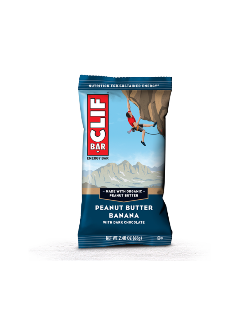 Clif Bar - Peanut Butter Banana Dark Chocolate