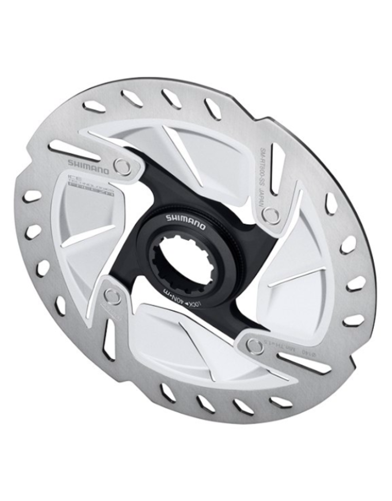 Shimano Ultegra Disc Rotor, 140mm, Center-Lock, With Lock Ring