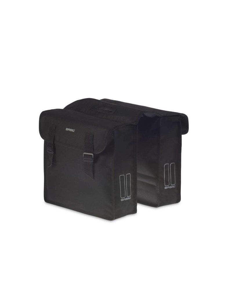 BASIL Mara Double Pannier Bag - 26L - Black