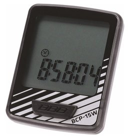 BBB Dashboard Computer Wireless - 10 Functions - Black/Silver