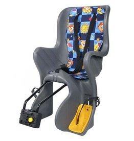 Baby Seat High Back Grey - Seat Tube Mount