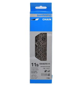 Shimano Chain, 11 Speed, With Quick Link - CN-HG701
