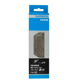 Shimano Chain, 10 Spd, 116 Links, For MTB (CN-HG95)
