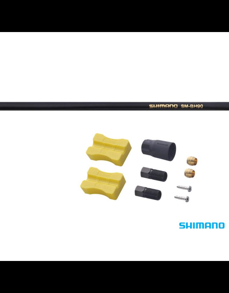 Shimano Disc Brake Hose - SM-BH90-SS - Black, 2000mm