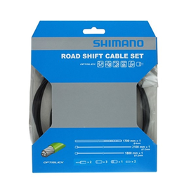 Shimano Optislik Road Shift Cable Set, Black