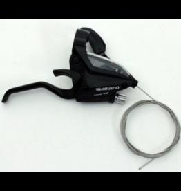 Shimano Shift/Brake Lever, Black, Right, 8 Speed
