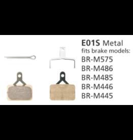 Shimano Metal Brake Pads - E01S