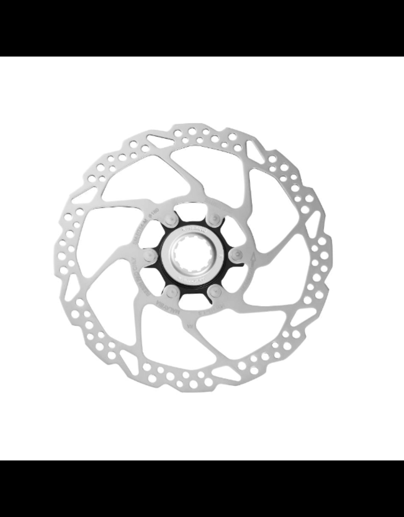 Shimano Disc Rotor, 180mm, Center-Lock, With Lock-Ring