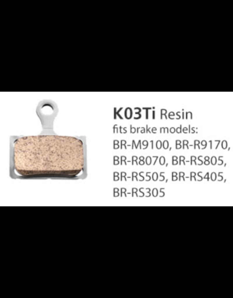 Shimano Resin Brake Pads - K03TI