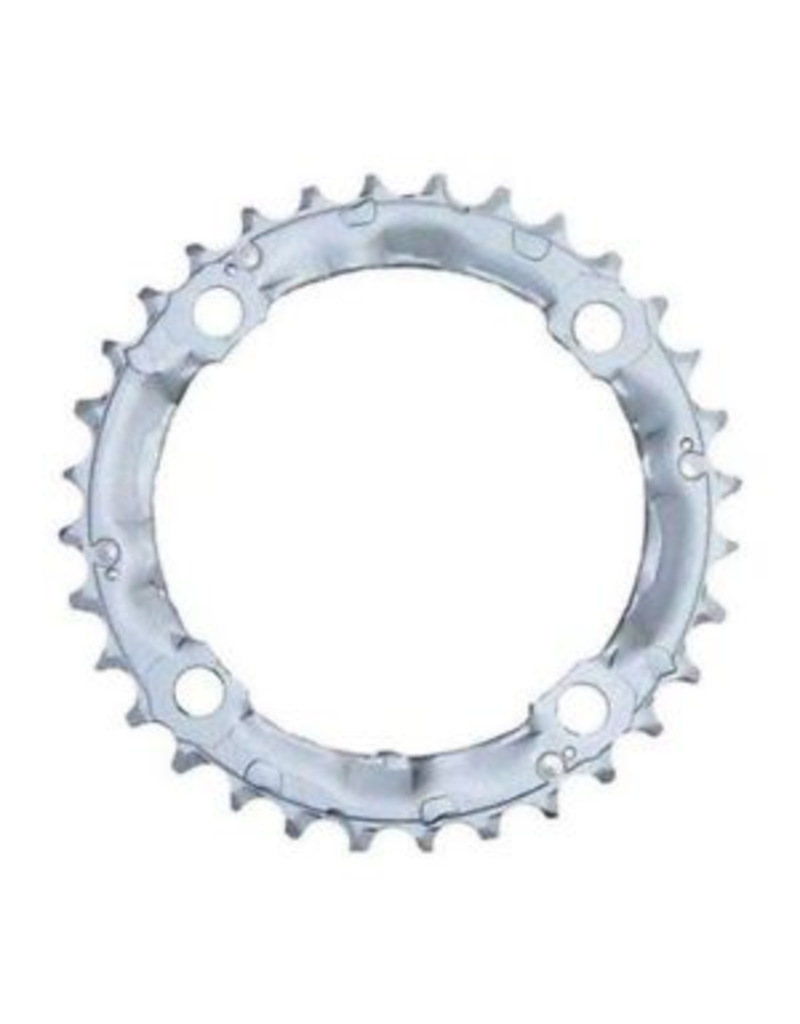 Shimano Chain-Ring, Silver, 32T, 104mm BCD, 9 Speed