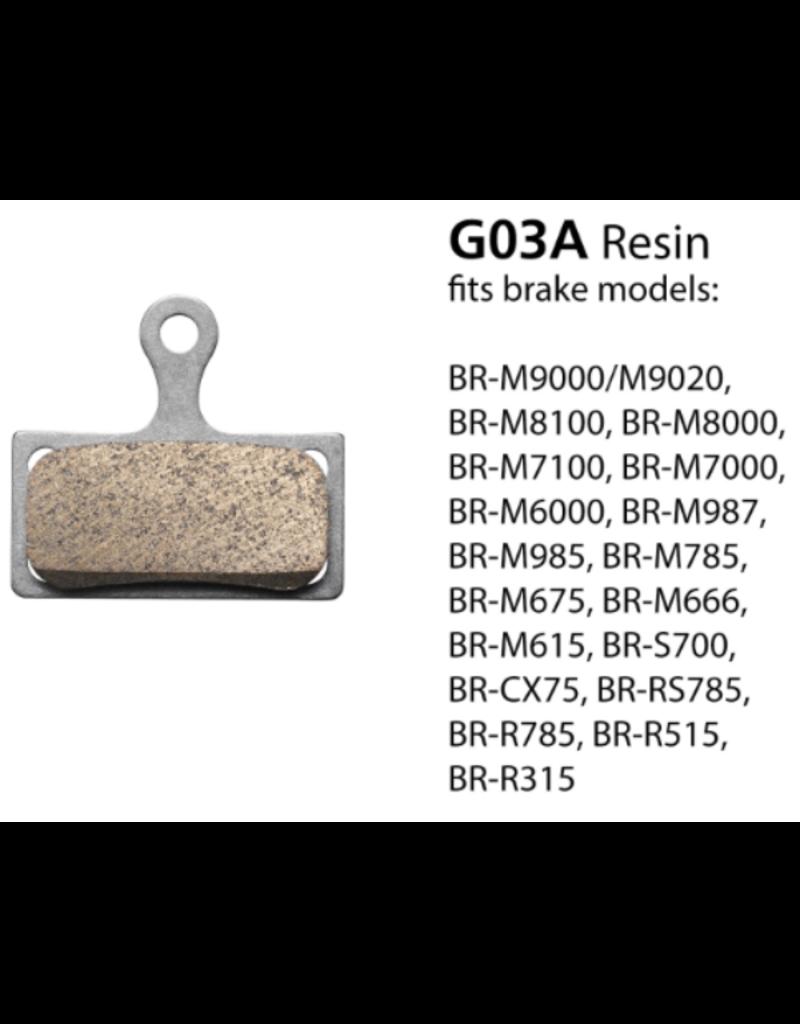 Shimano Resin Brake Pads - G03A