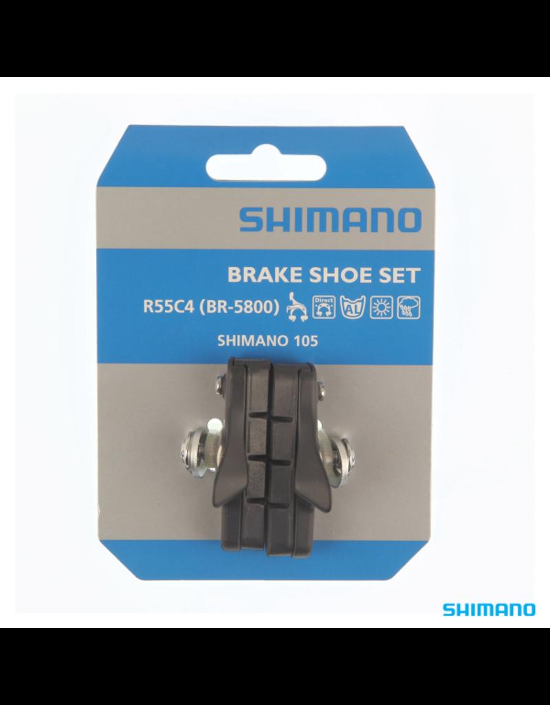 Shimano Cartridge-Type Brake Shoe Set - R55C4 (BR-5800)