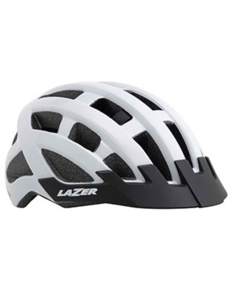 LAZER Lazer Helmet Compact - White - Unisize