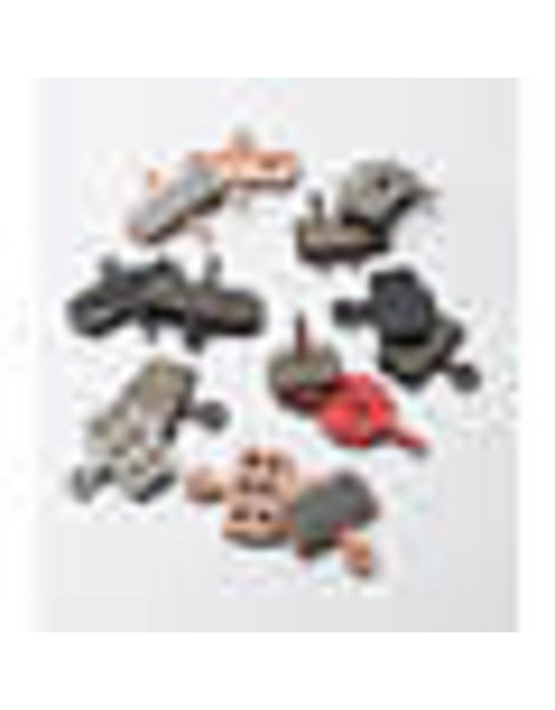 Sram HRD/LVLMONO Brake Pad Metal Set