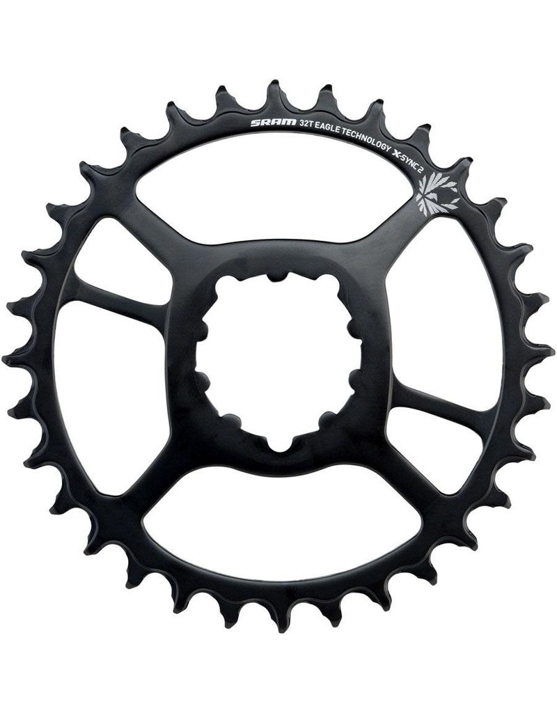 SRAM Chainring XSync2 Steel 32T DM Offset - Black