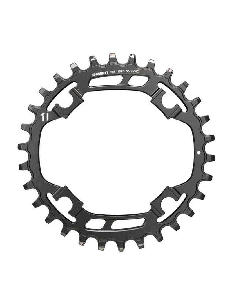 Sram Chainring XSYNC1 Steel 28T DM 3 OFFSET - Black