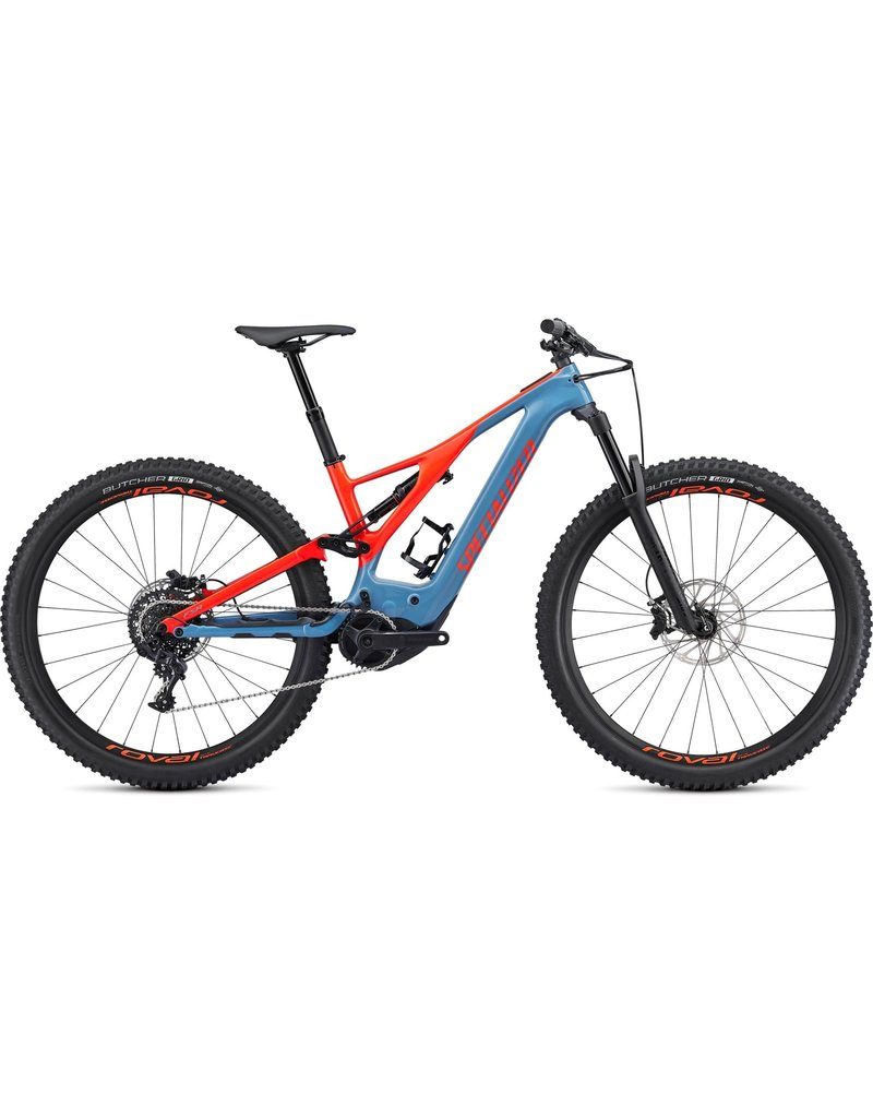 Specialized Turbo Levo Expert Carbon - Storm Grey / Rocket Red Large