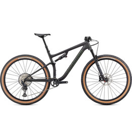 Specialized Epic Evo Comp - Satin Carbon / Oak Green Metallic Medium