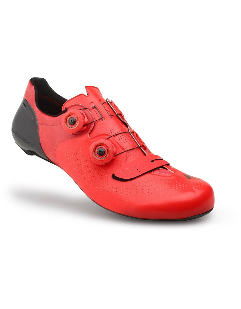 Specialized S-Works 6 Road Shoes Rocket Red Dipped 39