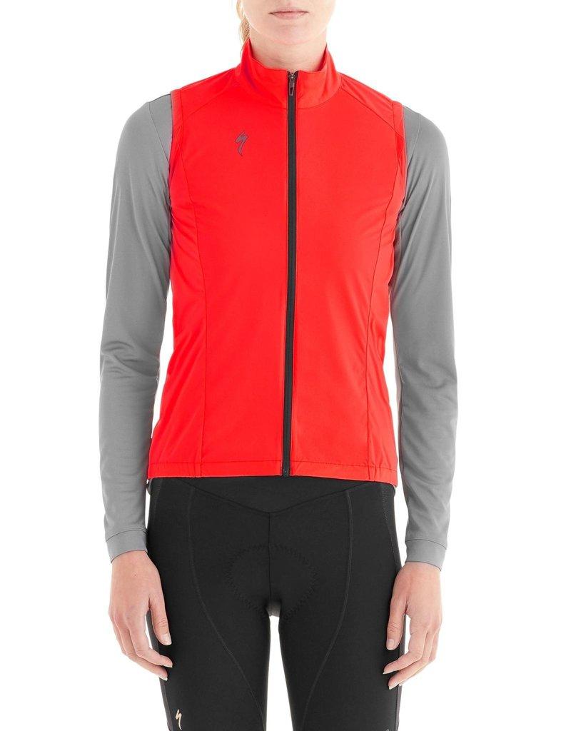 Specialized Women's Deflect Wind Vest - Rocket Red