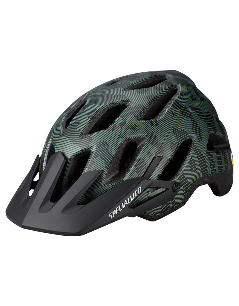Specialized Ambush Comp with ANGi - Green / Black