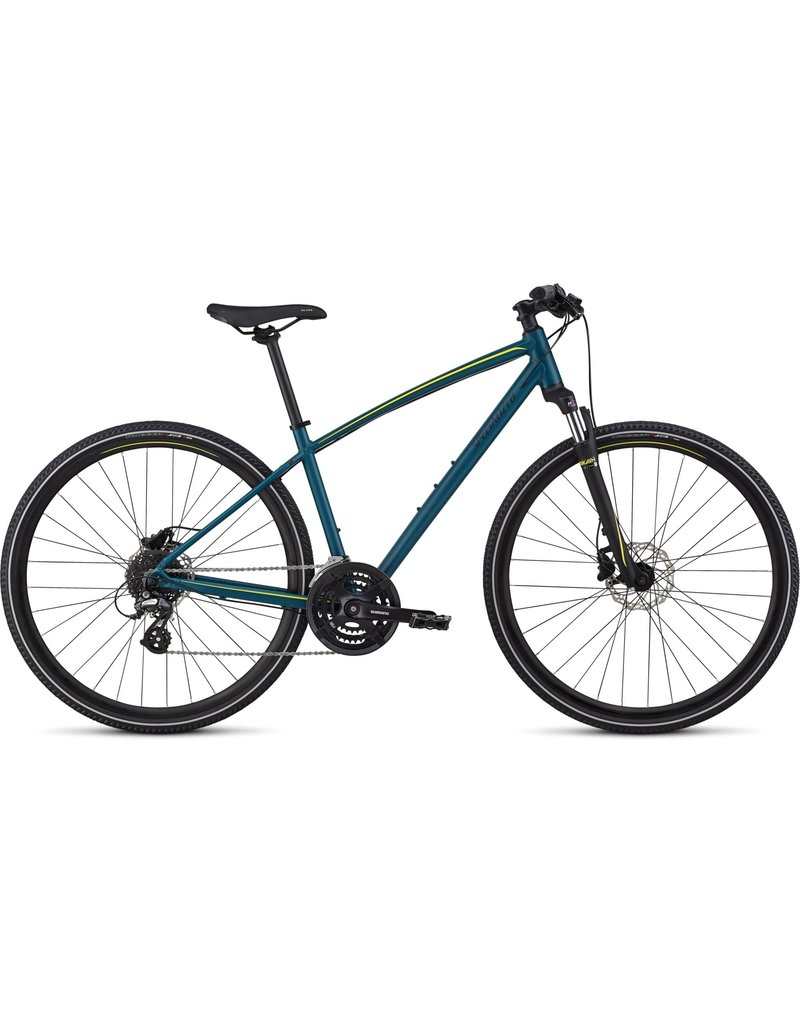 Specialized Ariel – Hydraulic Disc Tropical Teal / Limon Reflective X-Small