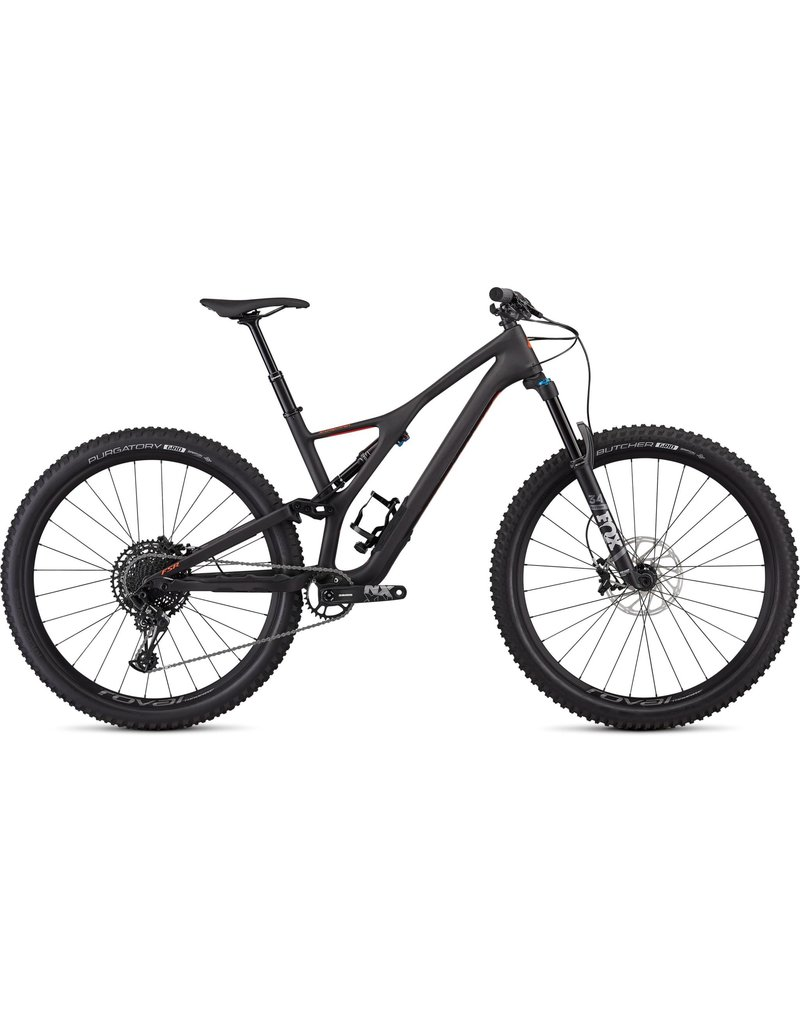 Specialized Stumpjumper Comp Carbon 29 - Satin Carbon / Rocket Red