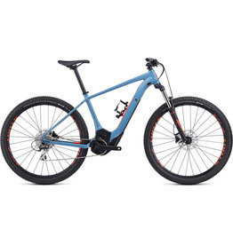 Turbo Levo Hardtail - Storm Grey / Rocket Red X-Large