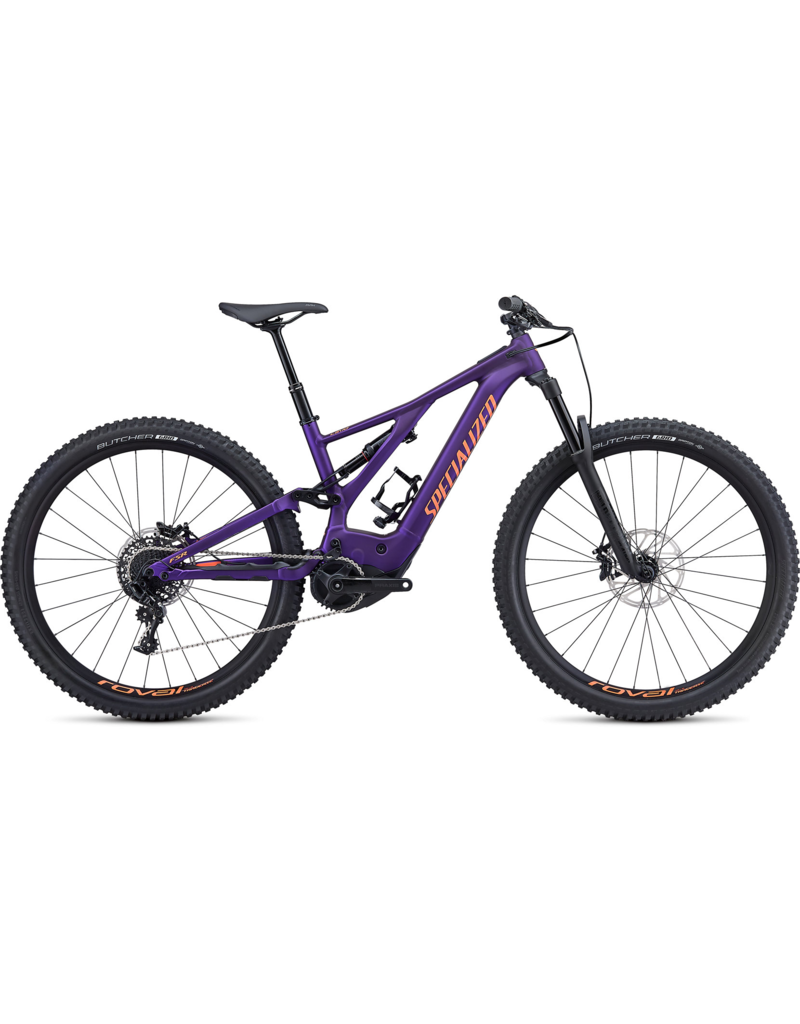 Specialized Turbo Levo Comp - Plum Purple / Acid Lava Large