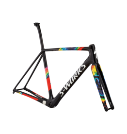 Specialized S-Works CruX Frameset - Gloss SL Black / Cosmos / Rocket Red / White
