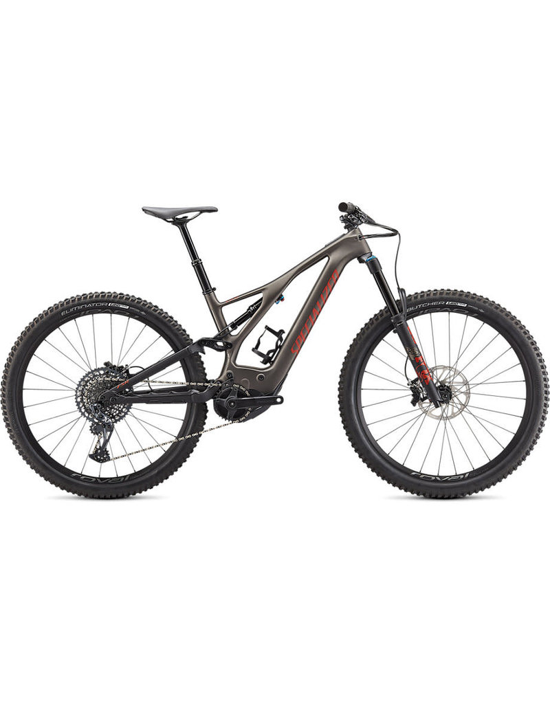 Specialized Turbo Levo Expert Carbon - Gunmetal / Redwood / Black