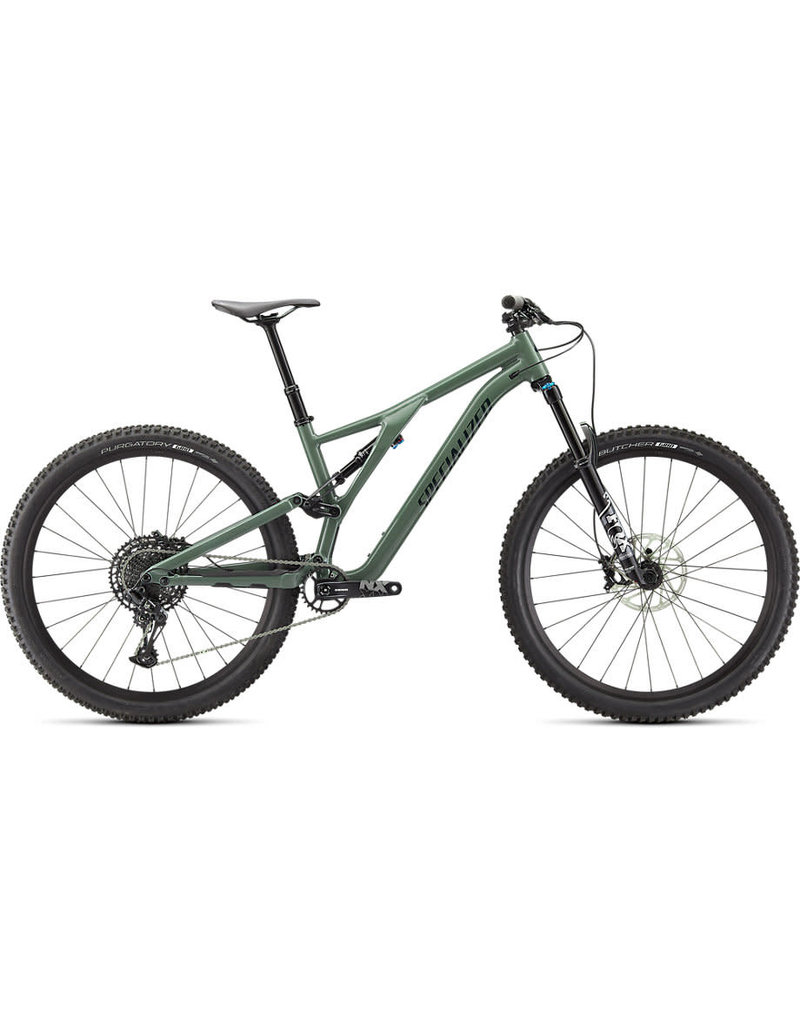 Specialized Stumpjumper Comp Alloy - Gloss Sage Green / Forest Green