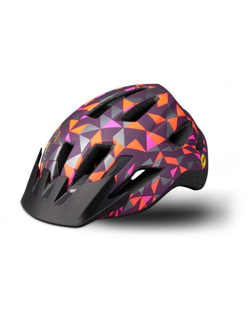 Specialized Shuffle Child Helmet - LED/SB/MIPS - Cast Berry Geo