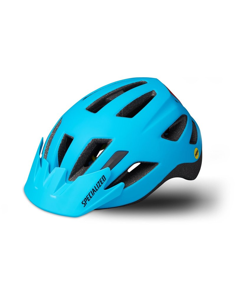 Specialized Shuffle Child Helmet - LED/SB/MIPS - Nice Blue